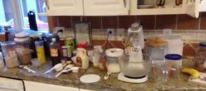 Gluten Free Baking Mess