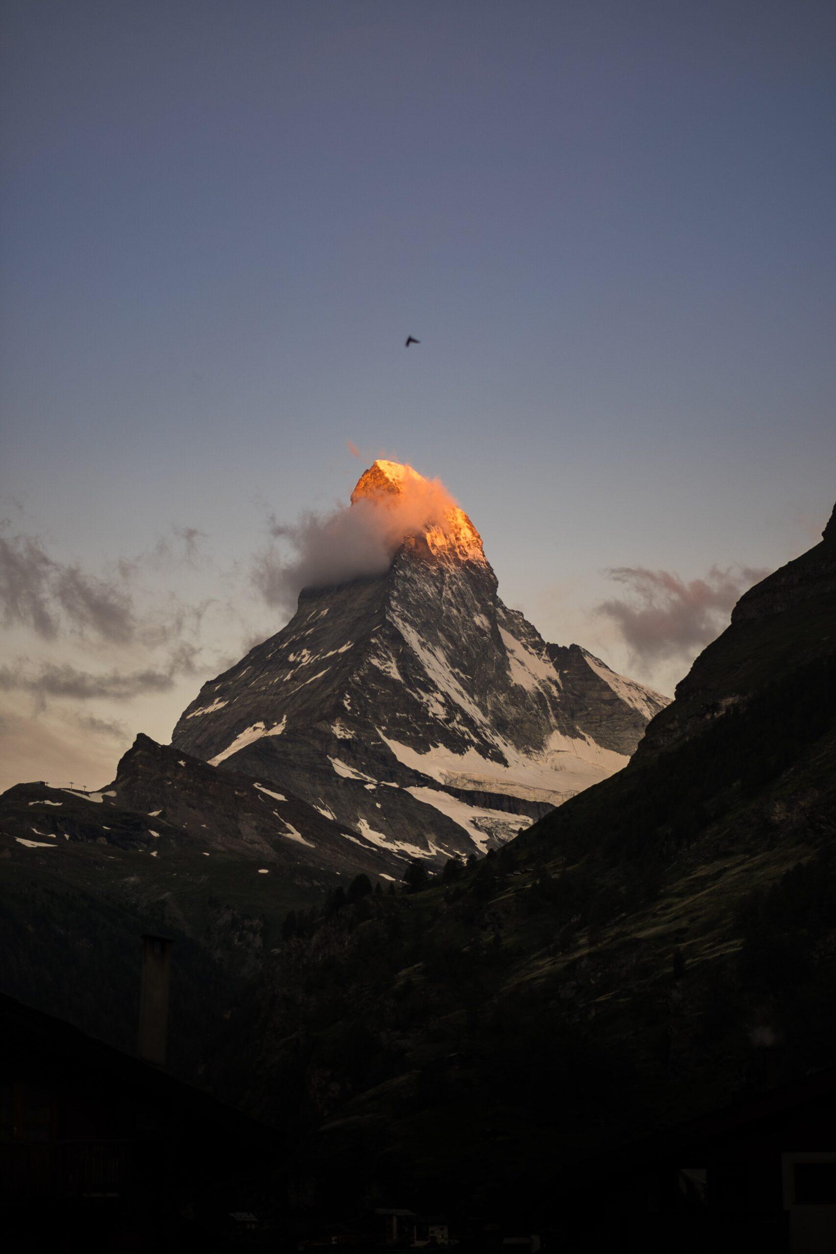 hot erupting volcano as metaphor for ruptured abscess